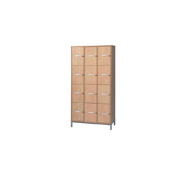 Meuble casiers vestiaires enseignants mobilier scolaire for Meuble casier