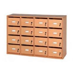 Visuel du meuble courriers 16 boîtes aux lettres - Net Collectivités