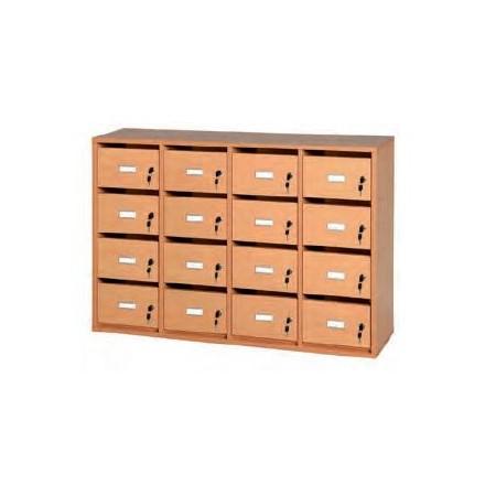 boite aux lettres enseignants meuble courriers mobilier scolaire. Black Bedroom Furniture Sets. Home Design Ideas