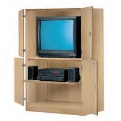 Visuel du meuble armoire audiovisuel pour école - Net Collectivités