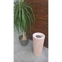 Visuel du cendrier Stromboli en Béton finition agrégats rosé - Net Collectivités