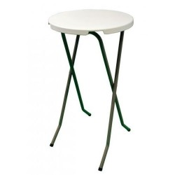 Table mange Debout pliant Ø 60 cm - Net Collectivités