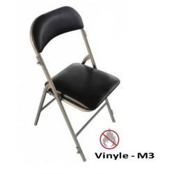Chaise Pliante pour collectivités en Vinyle - Isa - Net Collectivités
