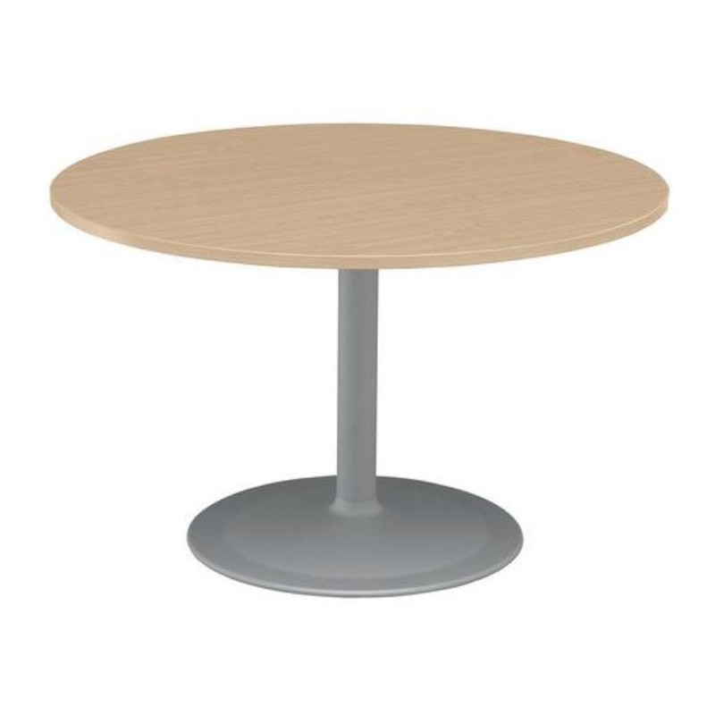 table ronde meeting pieds tulipe net collectivites - Table Ronde Pied Tulipe