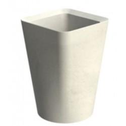 Corbeille béton design Égée - Net Collectivités