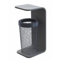 Corbeille béton design AIR - Net Collectivités