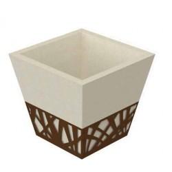 Bac à arbre - Vase urbain béton - Net Collectivités