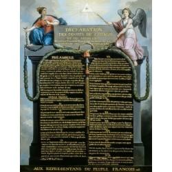 Plaque intérieure Déclaration Universelle - DDHC - Historique - Net Collectivités