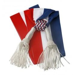 Écharpe tricolore pour Adjoint au maire - 1.8 m ou 2 m - Net Collectivités