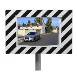 Miroir de circulation routière - gamme kaptorama éco garantie 3 ans - Net Collectivités
