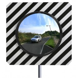 Miroir routier Carré pour Haute montagne et littoral - Net Collectivités