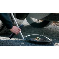 Miroir d'inspection fouille sous véhicule à roulettes - spécial vigipirate