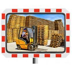 Miroir sécurité extérieure industrie - rectangulaire - Net Collectivités