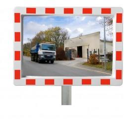 Miroir rectangle de circulation en industrie - gamme éco