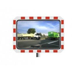 Miroir de circulation en industrie - rectangulaire - spécial haute montagne