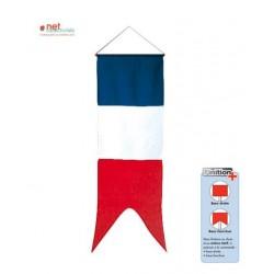 L'oriflamme France - queue de pie ou droite au choix - Net Collectivités