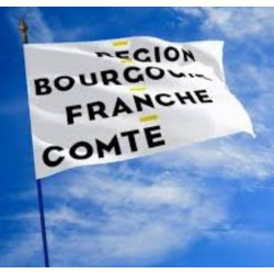 Drapeau de la Région Bourgogne Franche Comté - Net Collectivités
