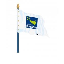Drapeau de la Région Bretagne - Net Collectivités