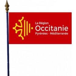 Drapeau de la Région Occitanie - Net Collectiviés