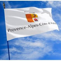 Drapeau de la Région Provence Alpes Côte d'Azur - Net Collectivités