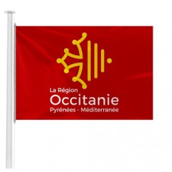 Le pavillon des régions administratives officiel en 2018 - achetez un drapeau à hisser sur mât pour mairie - Net Collectivités