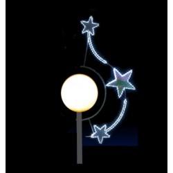 Rond de lune - décoration pour candélabre boule