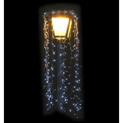 Décor rideau de Led de Noël pour Lanterne - Net Collectivités