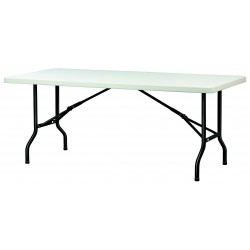 Table Polypro Rectangulaire - table plastique pliante