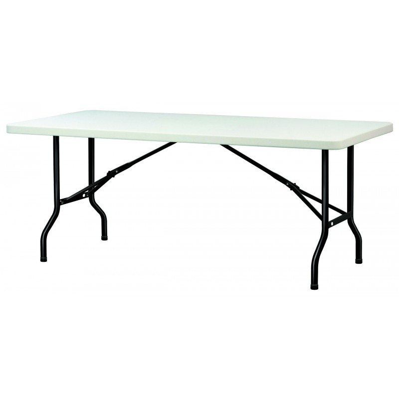 rectangulairetable Table polypropylènetable en en pliante pliante polypropylènetable Table L45jAR