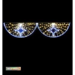 Traversée Lumineuse - Rayons - Décor irisant