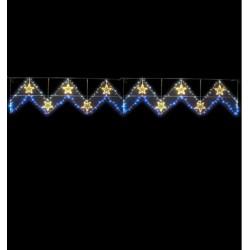 Illumination de Noël ZigZag étoilé