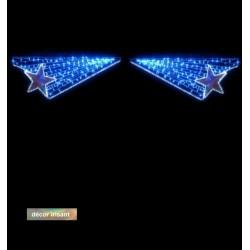 Voûte Lumineuse - Étoiles de Morphée - Décor de traversée de rue
