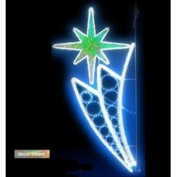 Décor lumineux Éclat Vénus pour candélabre