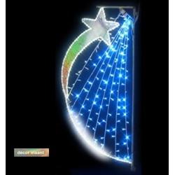 Décor lumineux Cosmos pour candélabre
