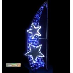 Décor lumineux Evanescente pour candélabre