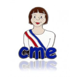 Visuel du Pin's émaillé pour Conseiller Municipal des Enfants - Net Collectivités