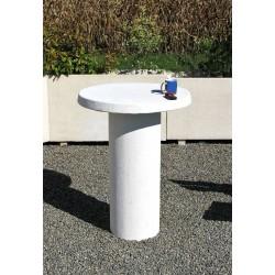 Visuel de la Table pause café en béton - Net Collectivités