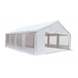 Barnum pro réception plein air M2 en 5 X 8 m - Tubes Ø 76 mm - HAUTEUR 2.2 M - Net collectivités