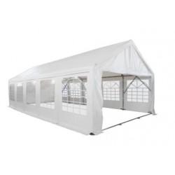 Chapiteau pro réception plein air M2 en 5 X 10 m - Tubes Ø 76 mm - HAUTEUR 2.2 M - Net collectivités