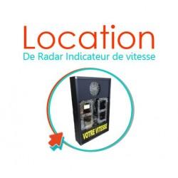 Visuel logo radars pédagogiques en location - Net Collectivités