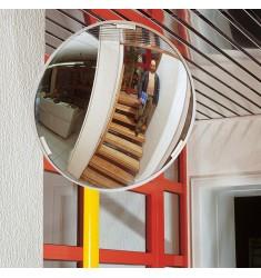 Miroir multi-usages cadre blanc