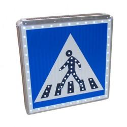 Panneau d'indication piétons lumineux type C20a