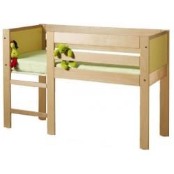 Lit pour enfant surélevé maternelle en bois - Net Collectivités