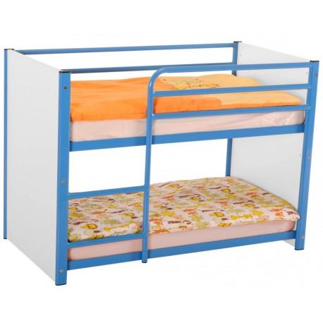lit superpos pour enfant lit superpos m tallique maternelle lit superpos en m tal. Black Bedroom Furniture Sets. Home Design Ideas