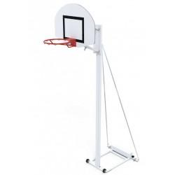 Panier de basket extérieur mobile pour scolaire