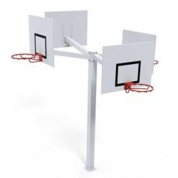 Tour de basket ball sur platine