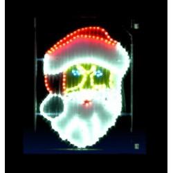 Décor lumineux Figurine Père Noël pour Lanterne