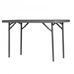 Table polypro pliante 4 personnes 122 cm