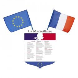 Écusson porte drapeaux selon loi Peillon et loi Blanquer