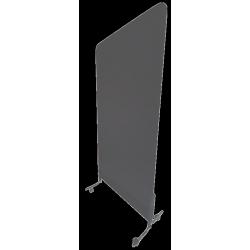 Fourreau gris anthracite pour grille d'affichage